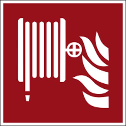 Brandschutzzeichen F002 Löschschlauch selbstklebend nachleuchtend