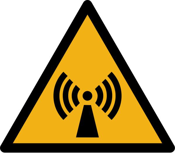 """Warnzeichen W005 """"Warnung vor Handverletzungen"""" selbstklebend"""