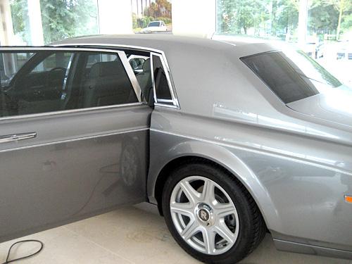 Rolls Royce mit Tönungsfolie hintere Tür